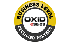 OXID esales - Business Level Certified Partner