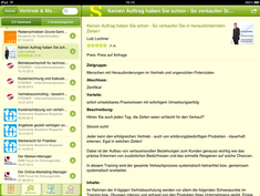 Seminarportal-App als iPad-Version