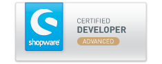 "Mario Sorrentino hat nun das Zertifikat ""Shopware Advanced Certified Developer"""